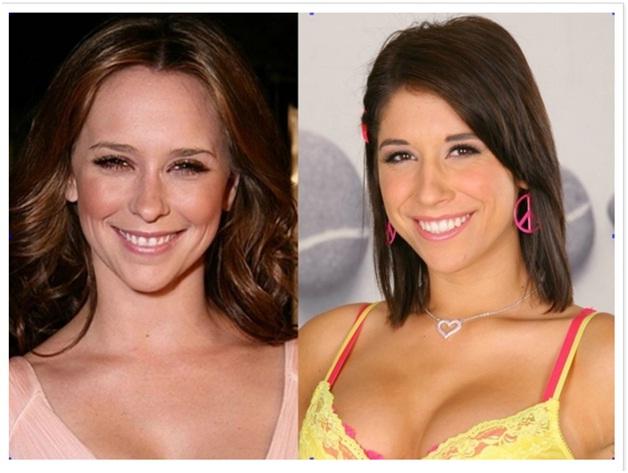 Celebrities & Their P0rnstar Lookalikes