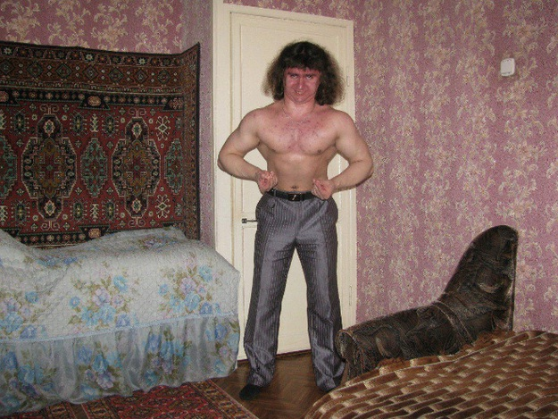 Scary Russian dating site pictures