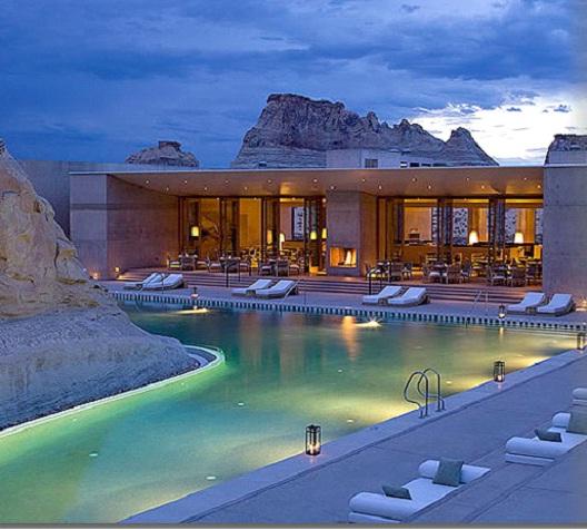 Amangiri utah best vacation destinations for couples for Best vacation destinations for couples