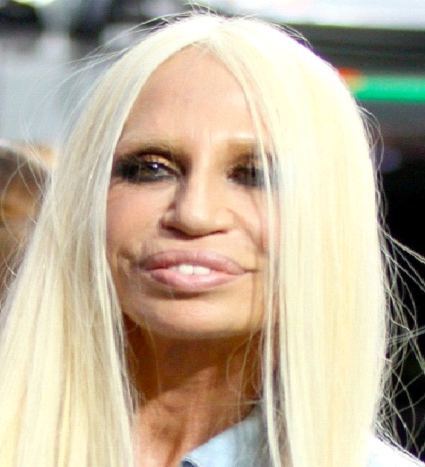 Donatella Versace Most Ugly Celebrities